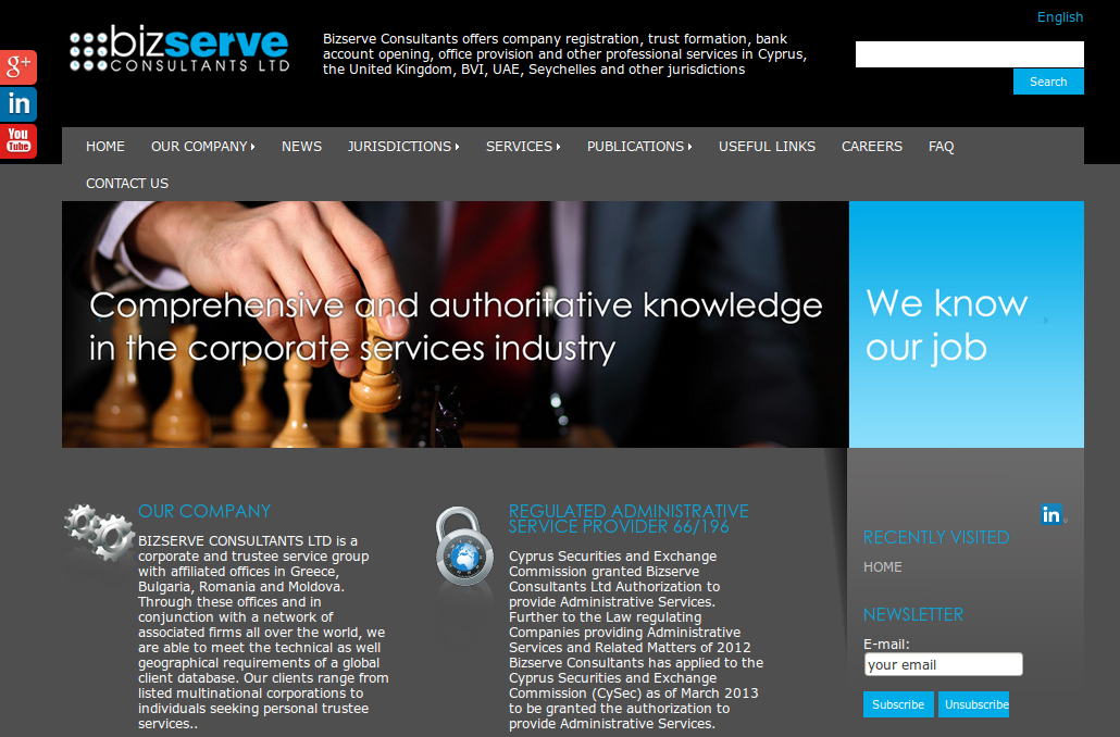 Bizserve Consultants Ltd.
